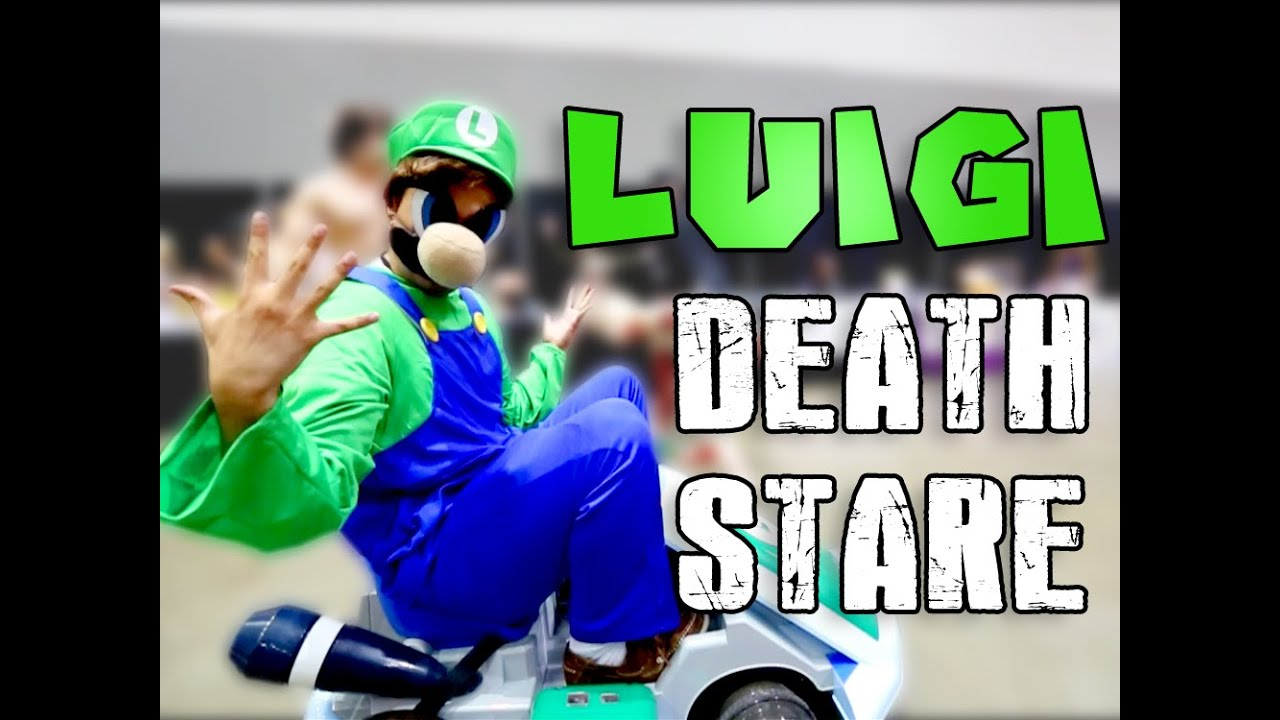 Luigi Death Stare - Anime Expo 2014