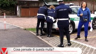 Multa assurda a Galliate Lombardo