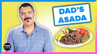 Mexican Dads Try Each Others Carne Asada