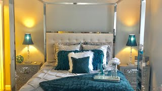 HOW TO MAKE UP A Z GALLERIE INSPIRED BED!! 🛌