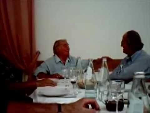 Giuseppe Taddei premio Rolf 2004 canta a 88 anni per gli amici