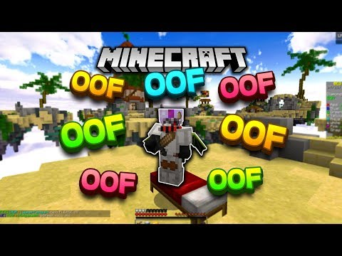 """oofing"" in minecraft..."