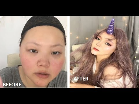The Power Of Makeup Transformation 11  Unicorn
