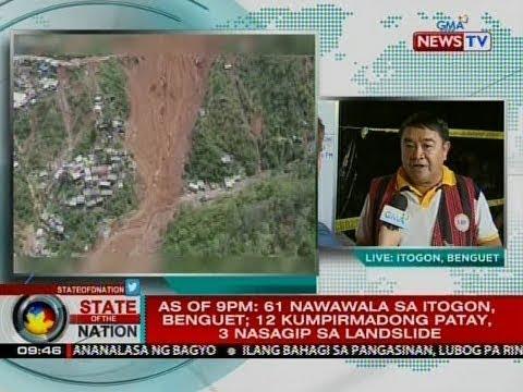 SONA: Panayam kay Mayor Victorio Palangdan, Itogon, Benguet