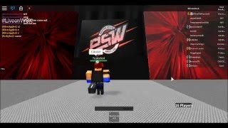 ESW Preview - (Roblox Wrestling)