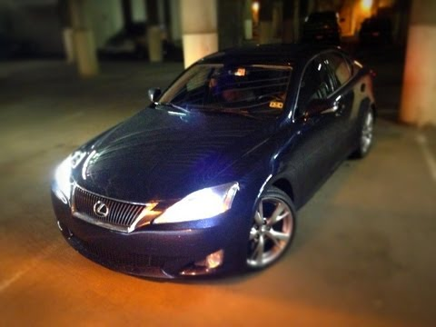2009 Lexus Is350 Wpre Collision Systempcs Youtube