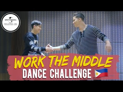 Work The Middle Dance Challenge by Alex Aiono & Kyle Echarri