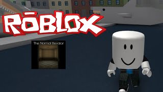 """Roblox:""""Marshmallow Face!"""" The Normal Elevator gameplay"""
