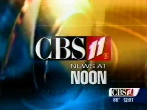 KTVT CBS 11 News at 12pm 2002 Open