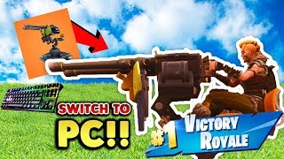 I CHOCKED a W!! - Fortnite Battle Royale - Switch to Pc Ep  6