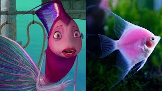 Shark Tale Characters in Real Life