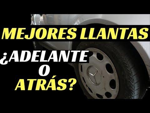 DÓNDE PONER LAS MEJORES LLANTAS ¿ADELANTE O ATRÁS?- Velocidad Total