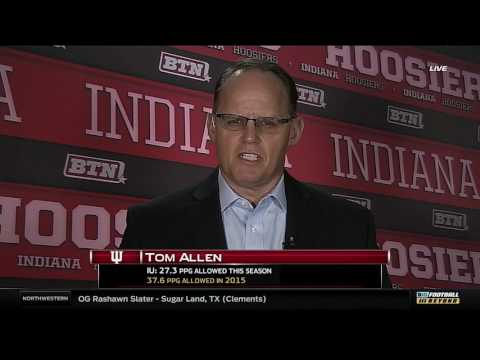 Tom Allen on 2017 Signing Day Class