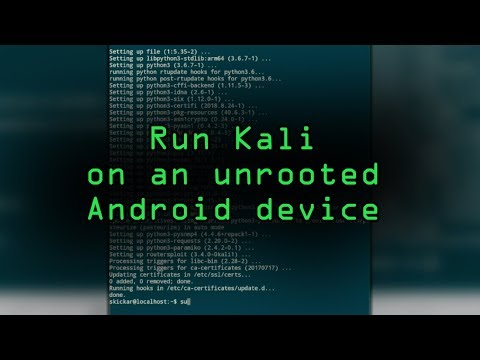 Run The Kali Linux Hacking OS On An Unrooted Android Phone [Tutorial]