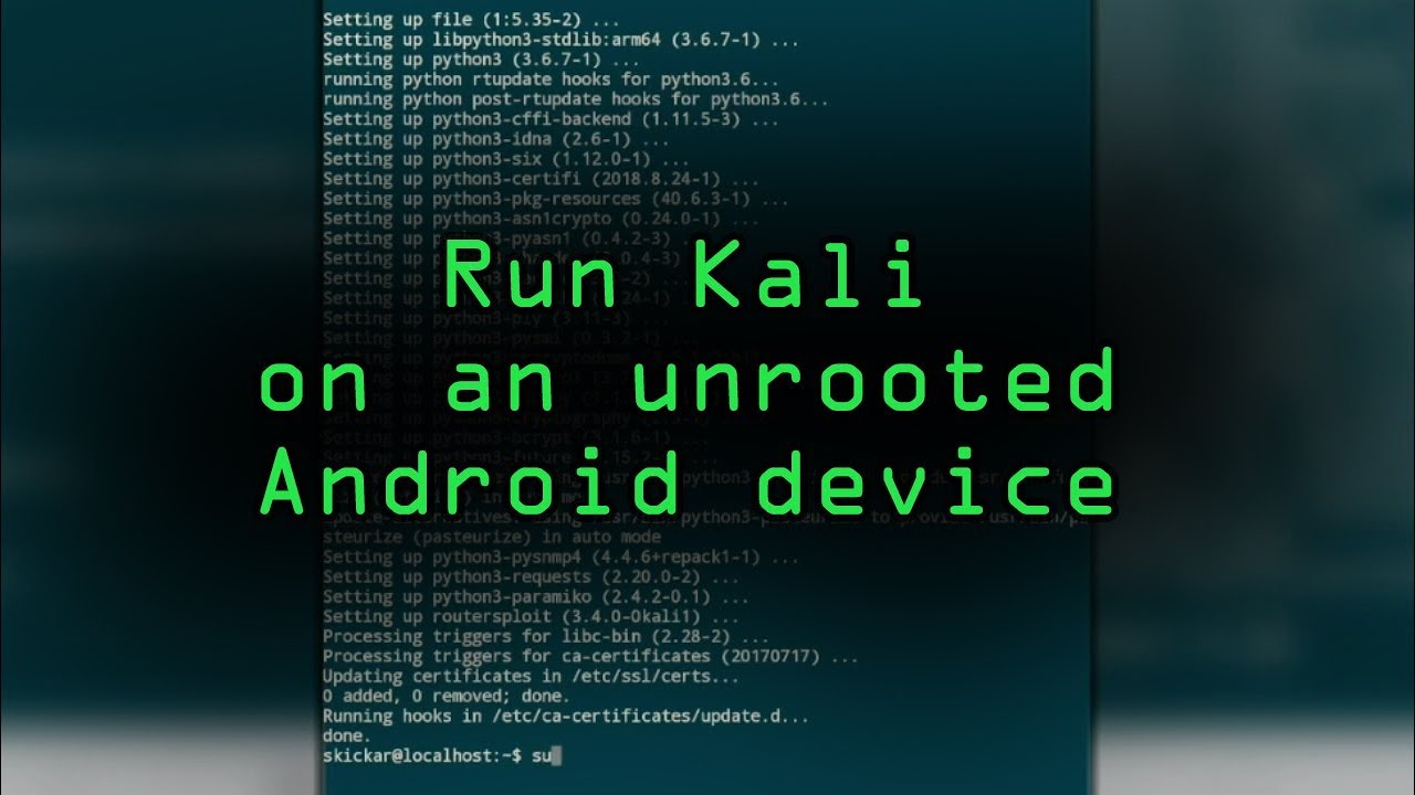 Android for Hackers: How to Turn an Android Phone into a Hacking