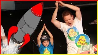 Rocket Ships | Kids Songs with Actions | Nursery Rhymes | The Mik Maks