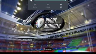 Rugby manager 2015 ep 1