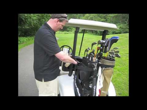 Paddy's Caddy Golf Bag in Action!
