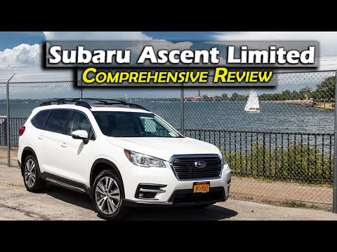 Subaru Ascent Limited Review 2019 / 2020