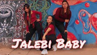 JALEBI BABY - TESHER | DANCE COVER | Khooshi Dutta ft. Shuktara Goswami and Christina Dkhar