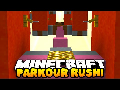 Minecraft PARKOUR RUSH (Speed Jumps, Funny Rage & Sumotori!) with THE PACK!