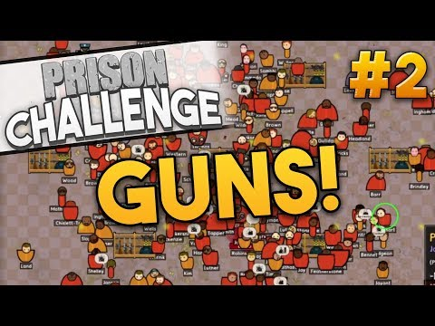Prison Architect ARMORY CHALLENGE ★ FIRST BLOOD! (#2) - Prison Architect User Challenge