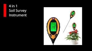 Інструмент дослідження ґрунту (4 в 1)