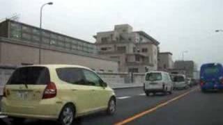autoroute suspendu tokyo
