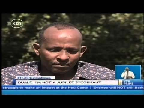 Hon. Aden Duale: I am not a Jubilee sychophant as many think