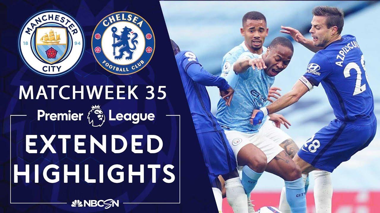 Download Manchester City v. Chelsea | PREMIER LEAGUE HIGHLIGHTS | 5/08/2021 | NBC Sports