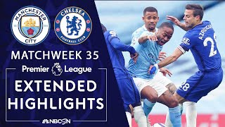 Manchester City v. Chelsea | PREMIER LEAGUE HIGHLIGHTS | 5/08/2021 | NBC Sports