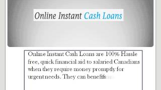 Online Instant Cash Loans- Fast Solution of Your Unpredicted Need