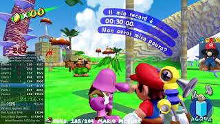 Super Mario Sunshine 3D AllStars Any% in 1:13:49 [WR on 10/10/2020]