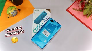 Oppo A12 Unboxing Blue Color - 4GB+64GB| Helio P35|Price in Pakistan!!