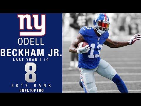 #8: Odell Beckham Jr. (WR, Giants)   Top 100 Players of 2017   NFL
