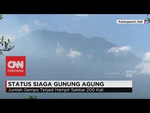 Status Siaga Gunung Agung