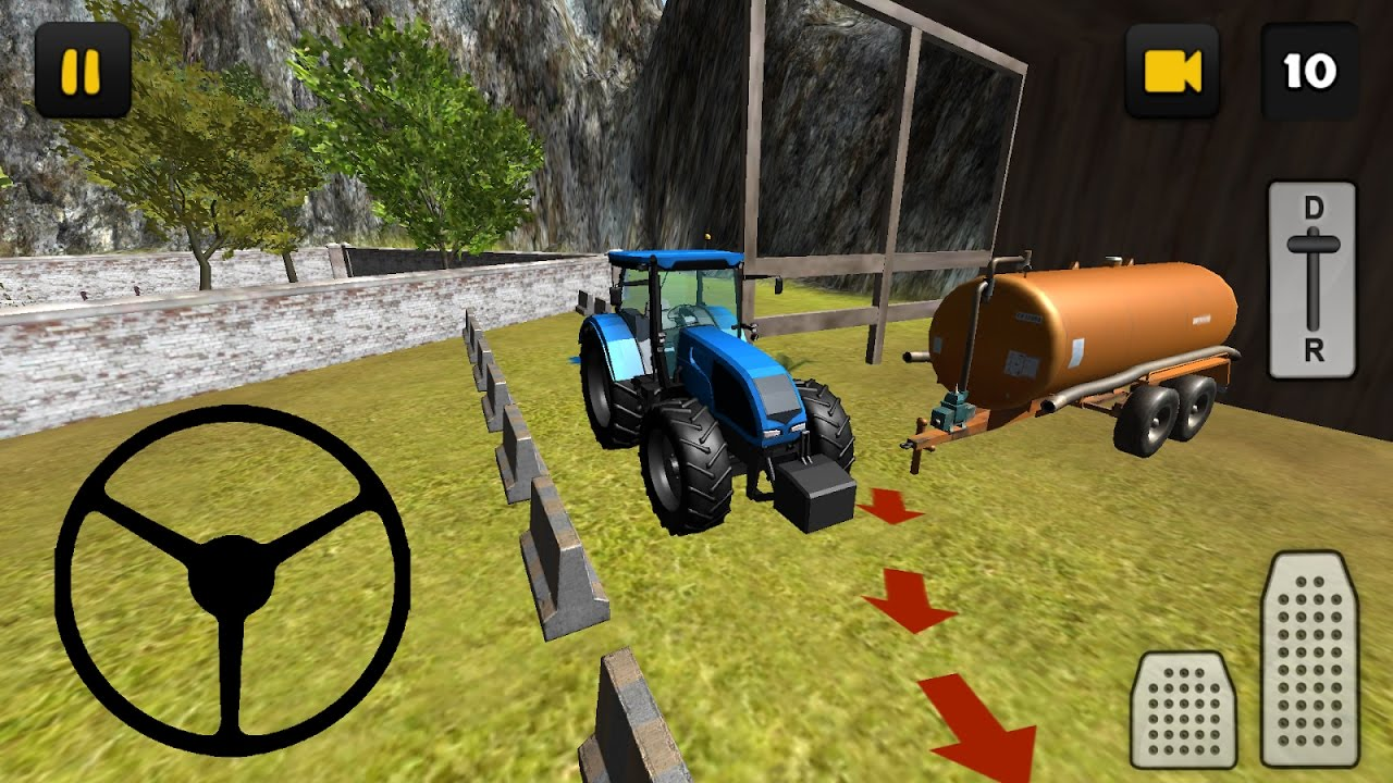 Tractor Slurry Transport 3D (By Jansen Games) Android Gameplay HD