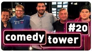 Comedy Tower 20 mit Chris Tall, Andreas Vitásek, Faisal Kawusi und Jens Heinrich Claassen