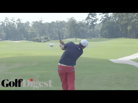Patrick Reed Knocks A Drone Out Of The Sky | Superhuman | Golf ...