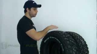 Qual pneu é melhor BFGoodrich All Terrain ou Mud Terrain KM2?