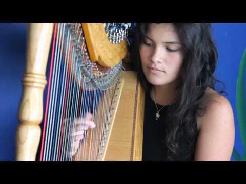 Paraguayan harp - 'Cascada' played by Tessa Whale