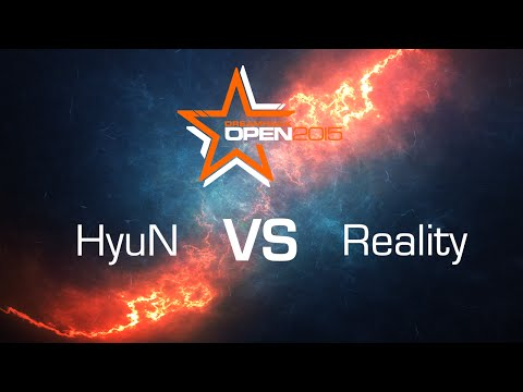 HyuN vs. Reality [ZvT] - RO4­ - Bo5 - DreamHack Open Stockholm 2015