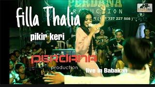Filla thalia - perdana production live in Babakan