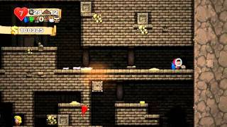 Spelunky - Partida completa / Game completed || PC Steam || Full Gameplay || Ironman, Made It