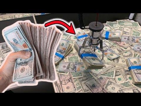 HACKED The CASH CLAW MACHINE (WON REAL MONEY ) | JOYSTICK