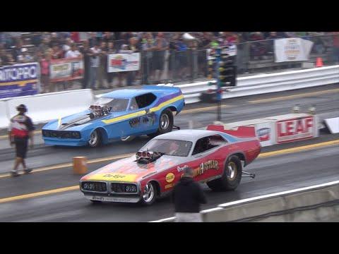 Todd Paton vs Gary Kraus NITRO FUNNY CAR
