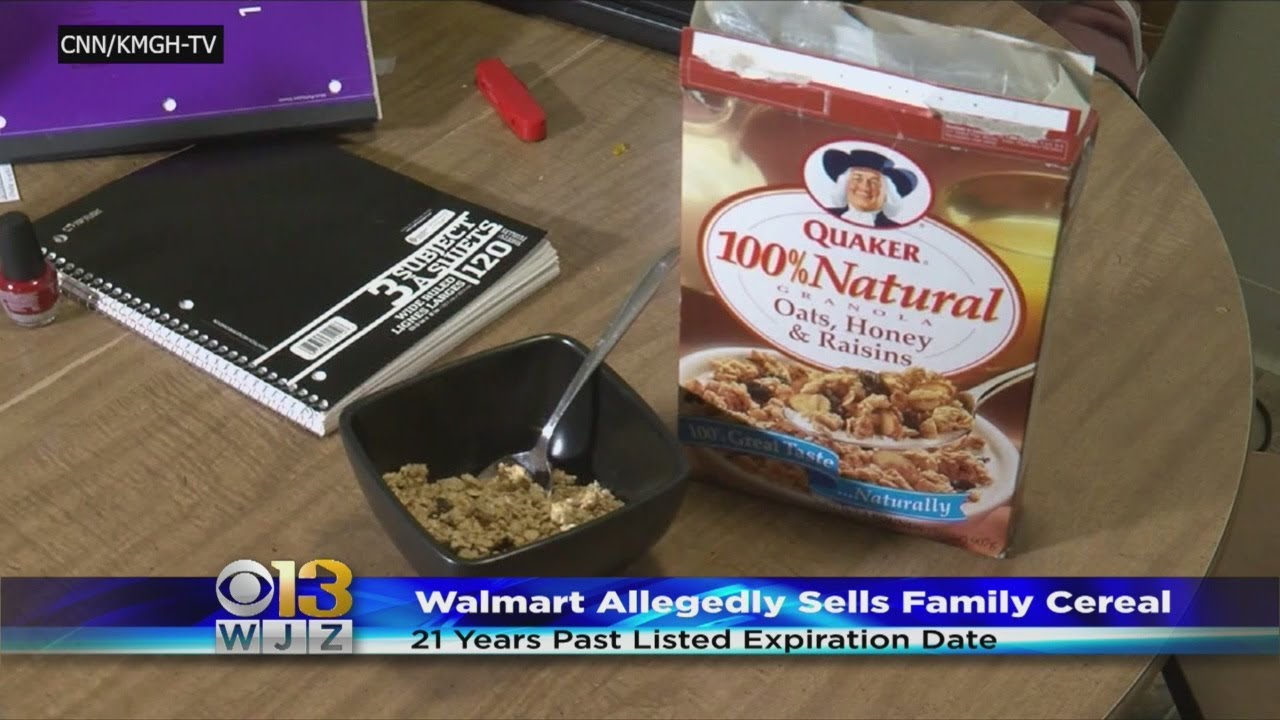 Family Accidentally Buys And Eats Cereal That Expired In 1997