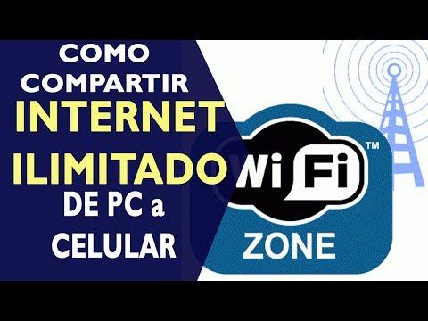 ¿Cómo compartir Internet ilimitado de tu computadora al celular?