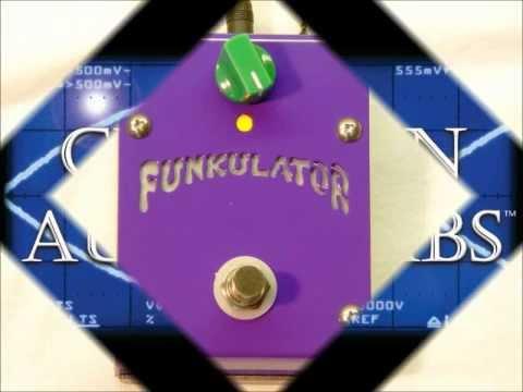 FUNKULATOR Bass Tone Shaper by CREATION AUDIO LABS