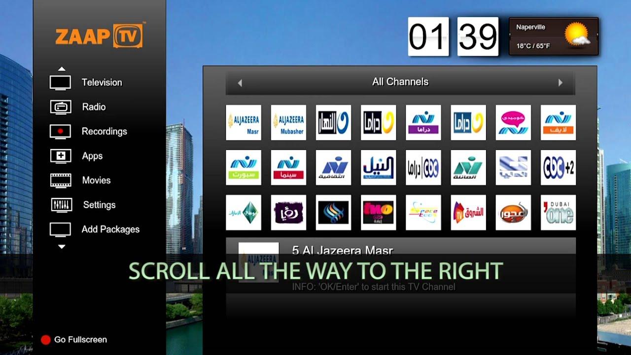 How to add MBC channels to your ZAAPTV (ZAAPTV 509N Jailbreak) by zaa ptv